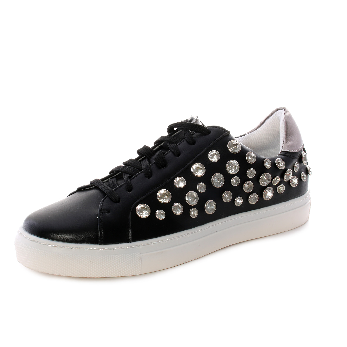 super popular d8cbd 94c1e Gavì - Sneakers da donna con brillantini - Nero